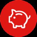 schwein-button